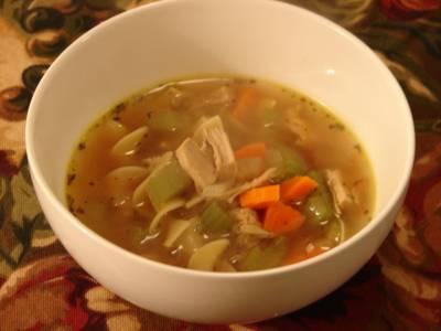 Roasted Turkey Noodle Soup Soups & Stews Recipes