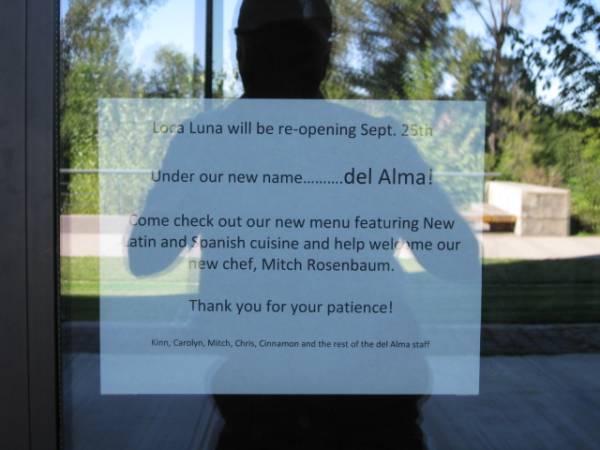 Del Alma Restaurant Opening In Corvallis Sept 25 2010 Community