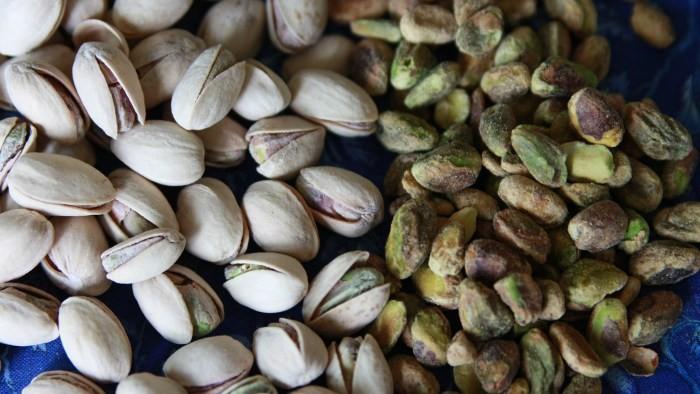 pistachio nuts - shelled & unshelled