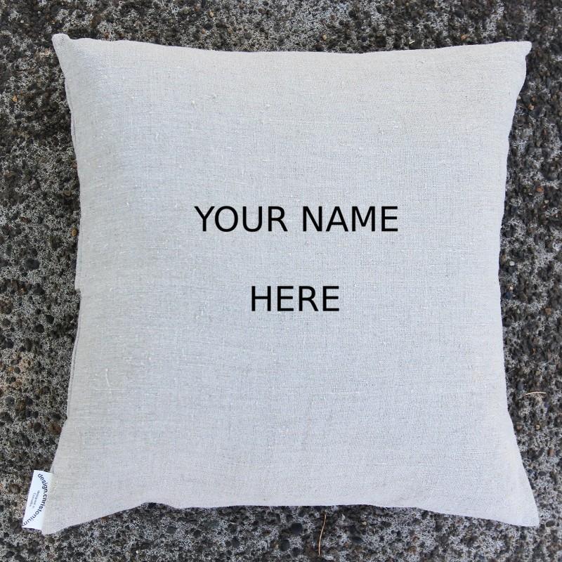 personalized throw pillowcase