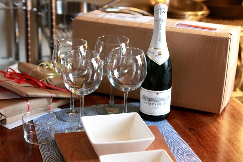 wine & presents