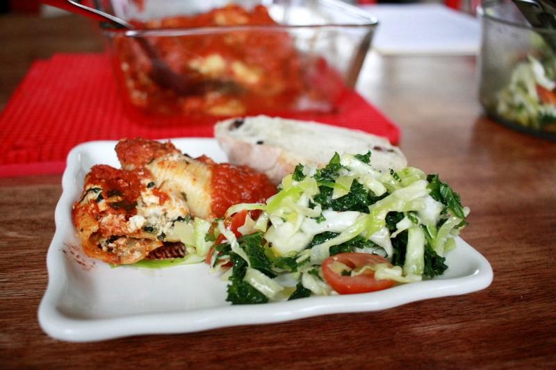 shells & salad