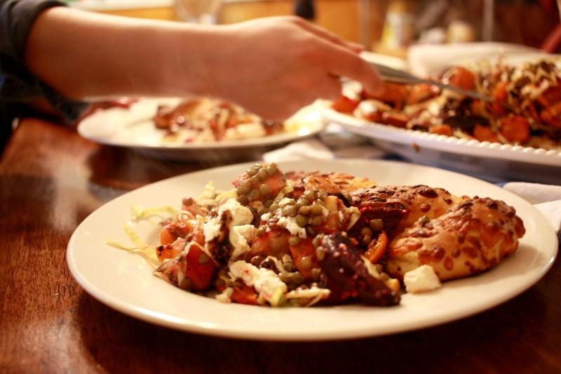 lentil & veggie salad