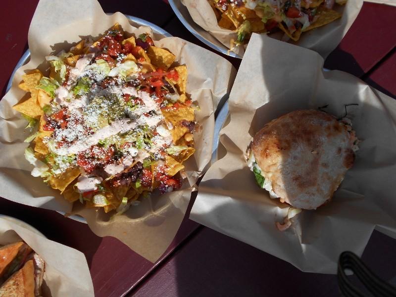 nachos & sandwiches