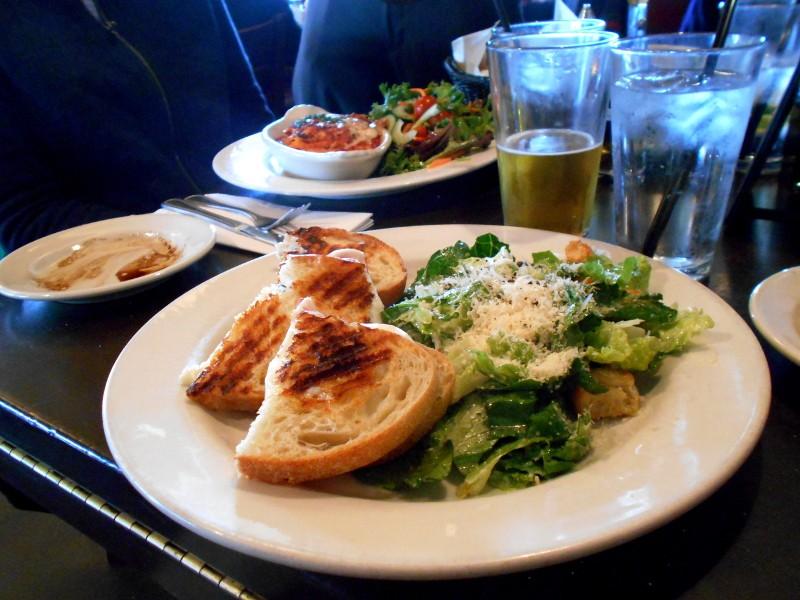 panini & salad