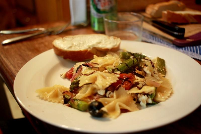 pasta & veggies
