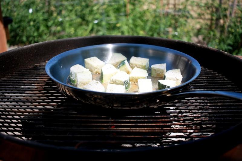 grilling zucchini