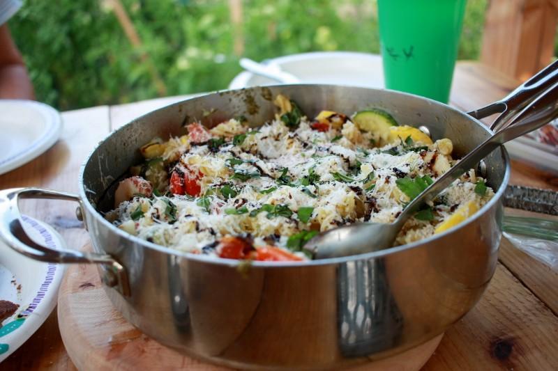 garden veggies & pasta