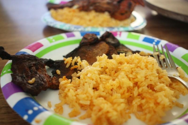 rice & ribs