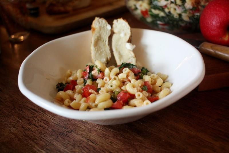 macaroni & tomatoes