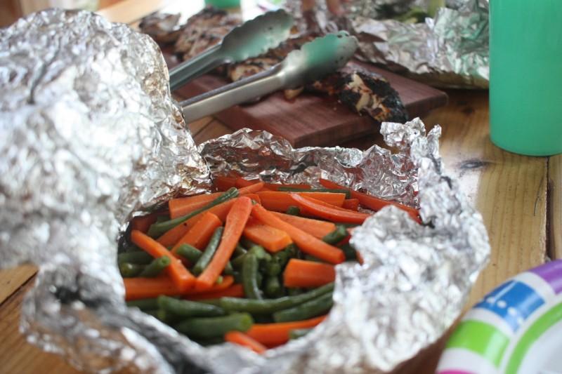 carrots & string beans