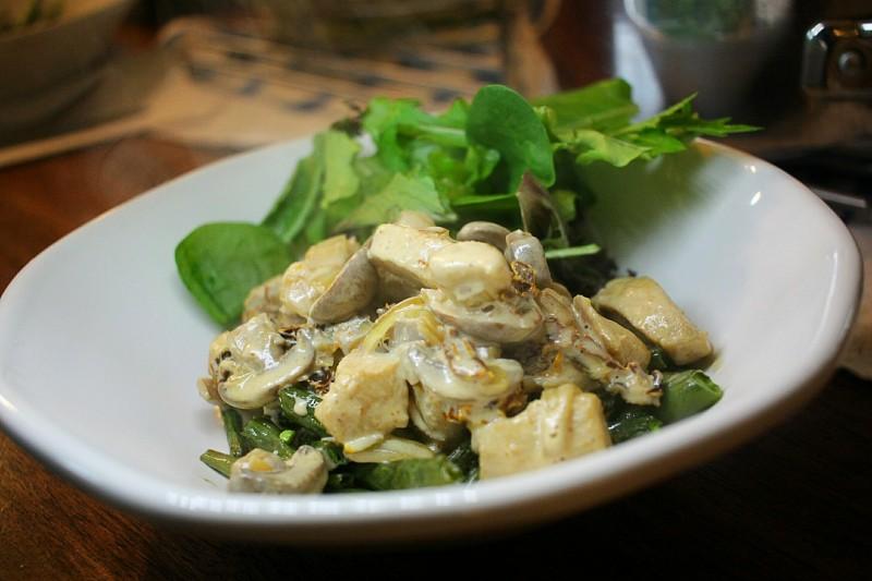 chicken in mushroom sauce