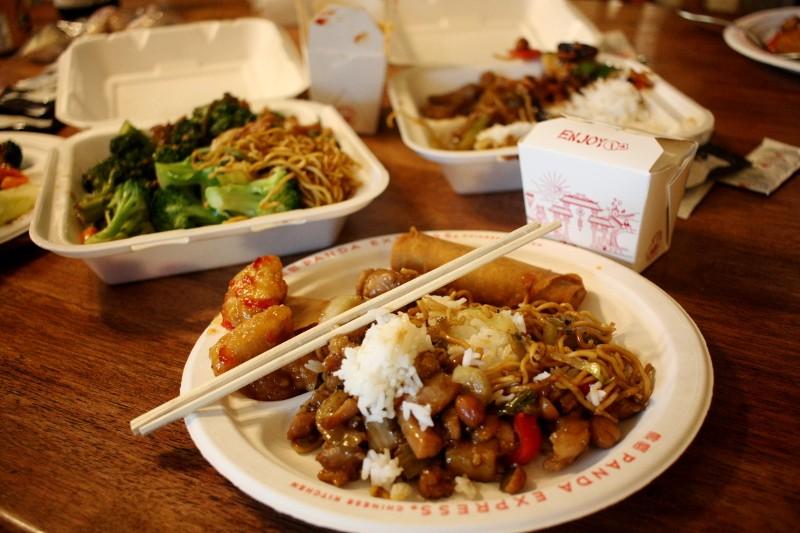 chicken, rice & veggies