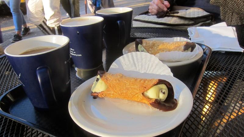 coffee & cannoli