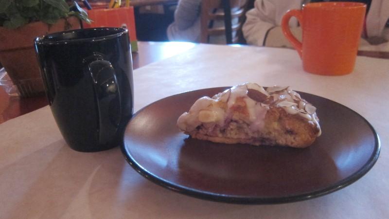coffee & scone