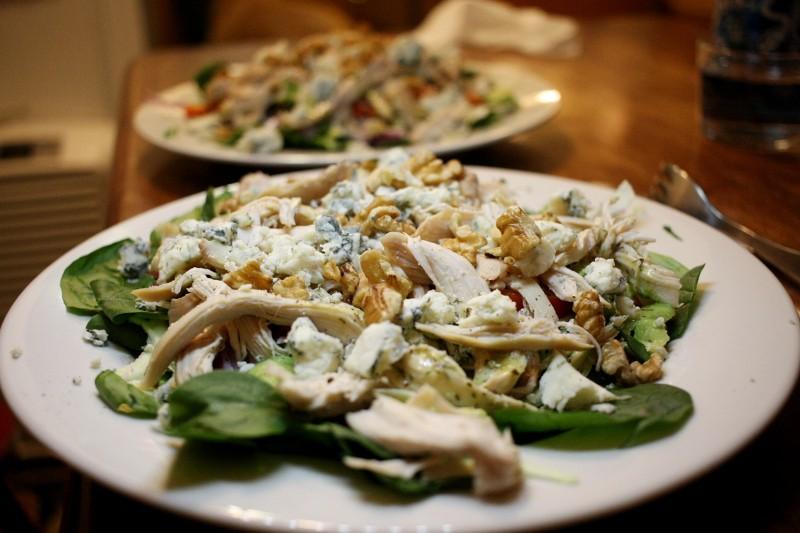 chicken & greens