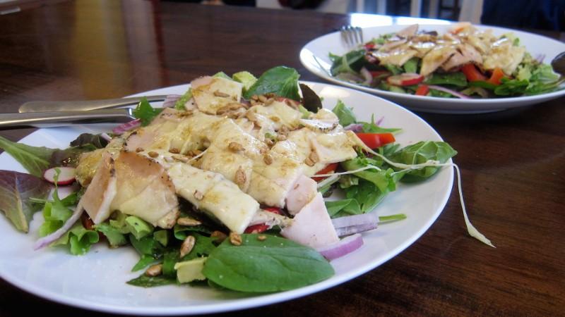 turkey & cheese salad
