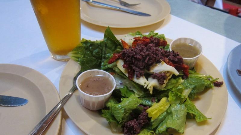 salad & IPA