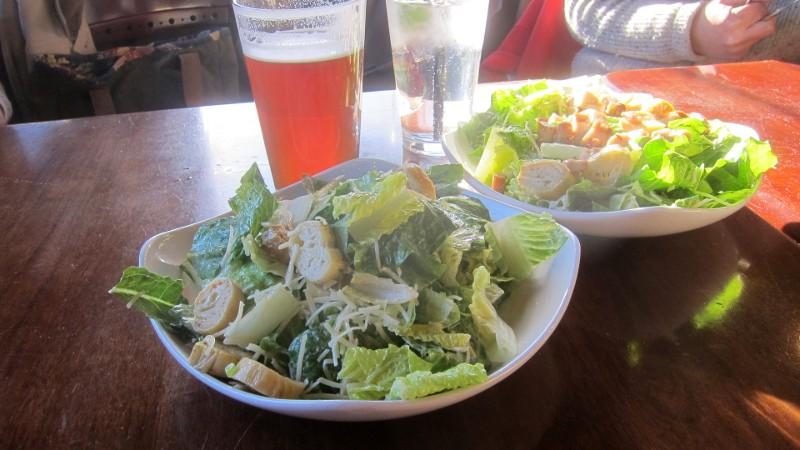 salad & red ipa