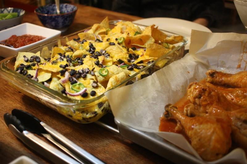 nachos & chicken