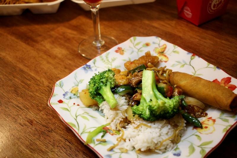 rice & veggies