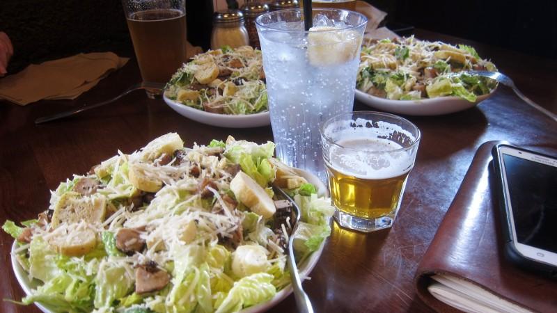 salads & IPA