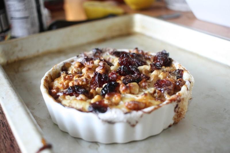 brie, cranberries & walnuts