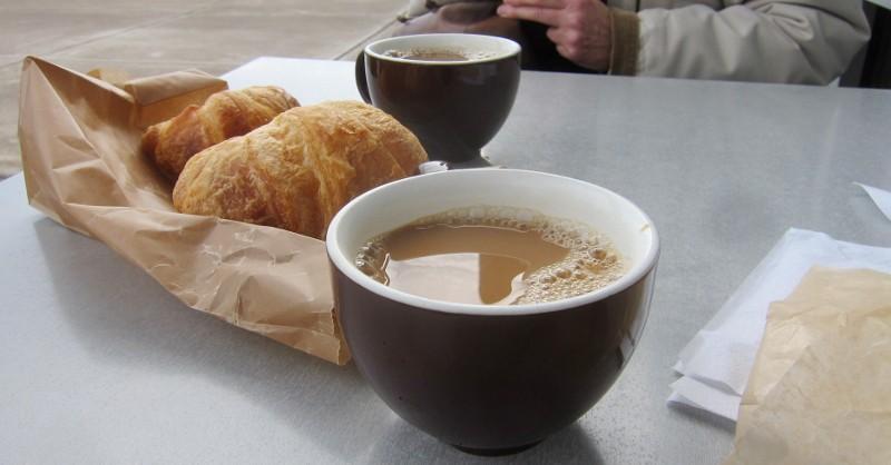 coffee & crossant