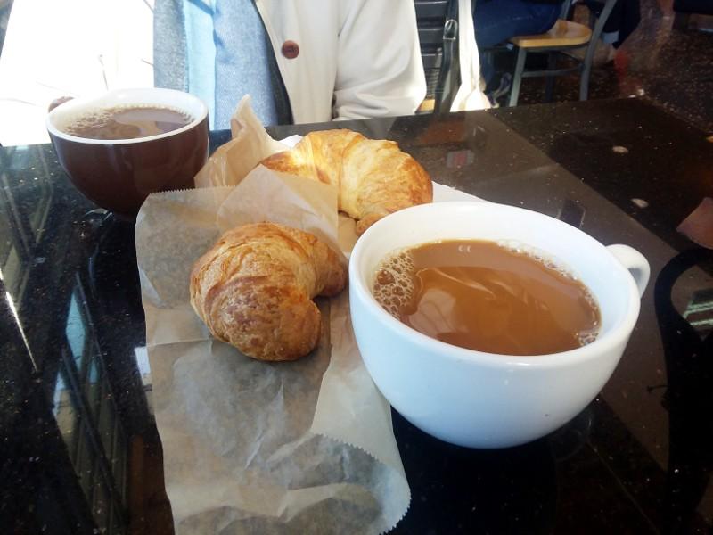 coffee & croissant