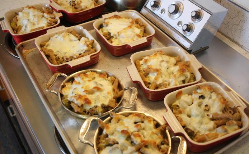 pasta & chicken & cheese