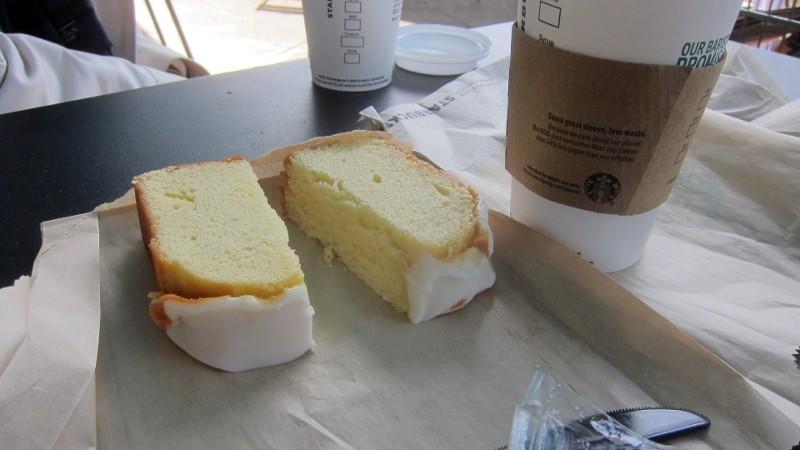 coffee & lemon loaf