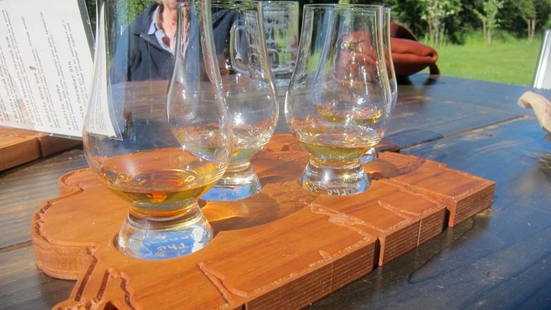 whiskey sampler