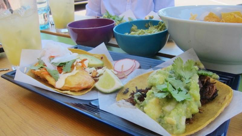 fish & pork tacos