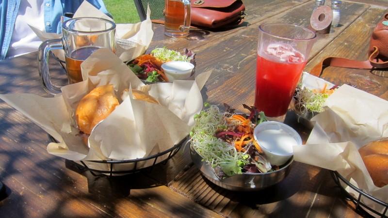 sandwiches, salad & ipa