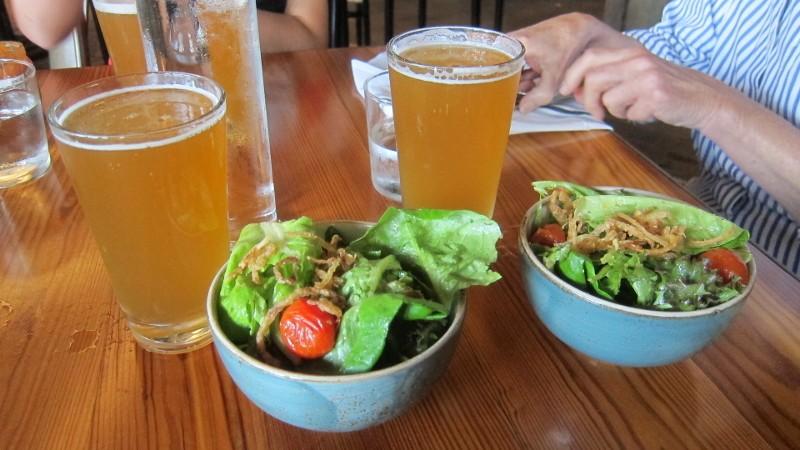 IPA & salads