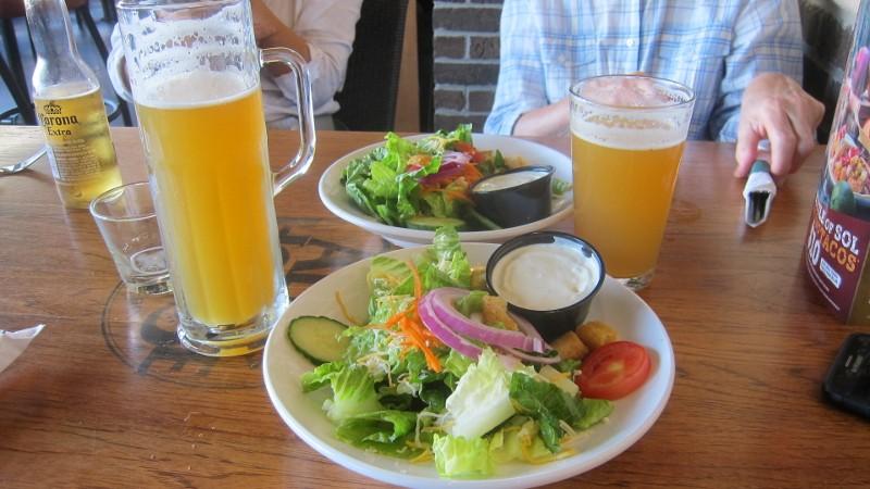 salads & beer