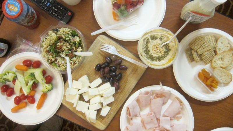salads cheese & turkey