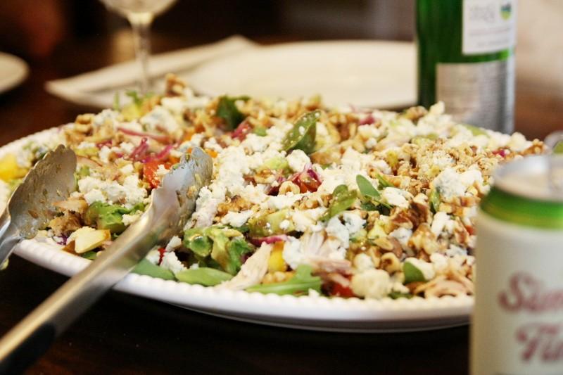 chicken salads & veggies