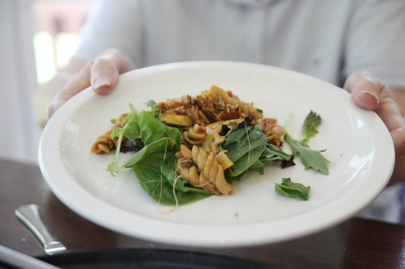 pasta & greens