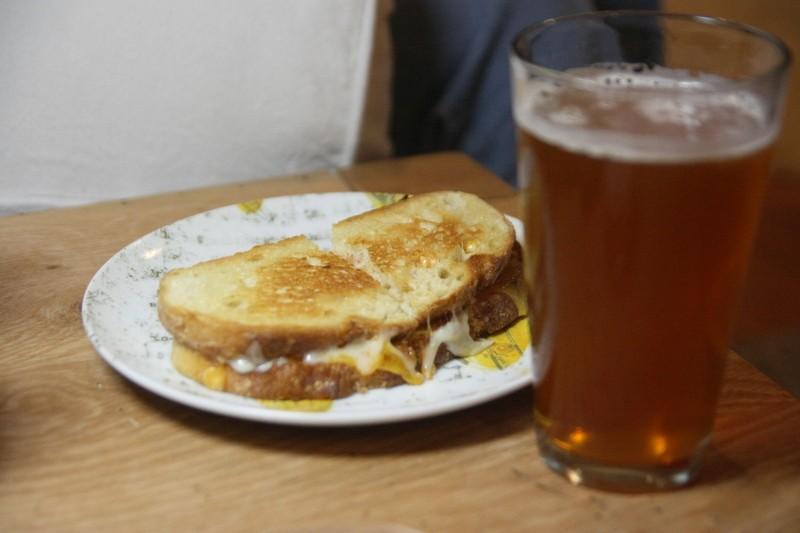ipa & sandwich