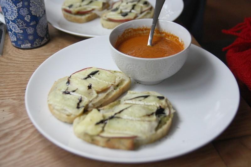 soup & brie