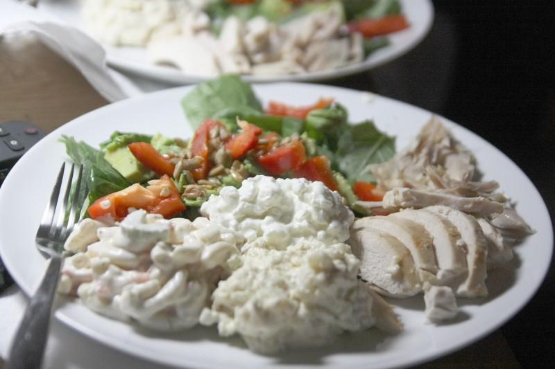 chicken & salads