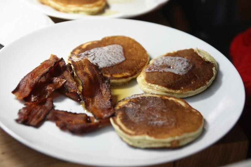pancake & bacon
