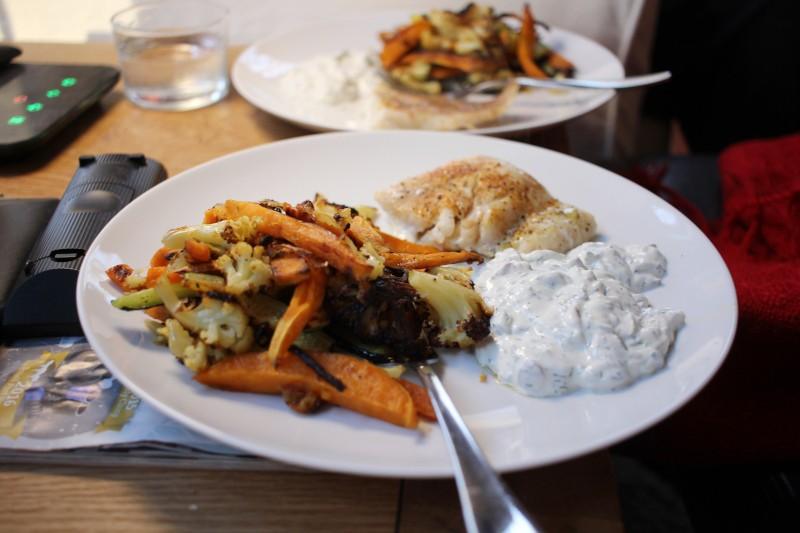 fish & veggies