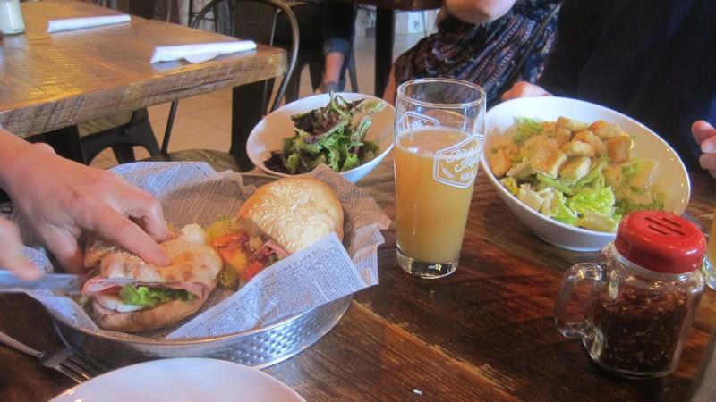 salads & sandwich