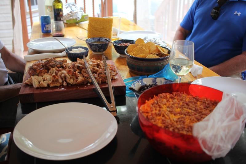 tacos & salad