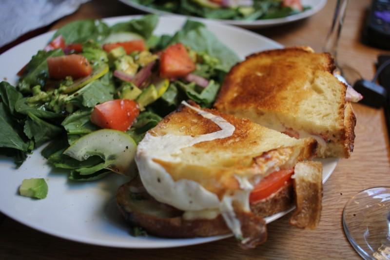 salad & panini